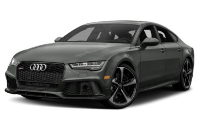 3/4 Front Glamour 2018 Audi RS 7