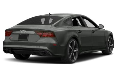 3/4 Rear Glamour  2018 Audi RS 7