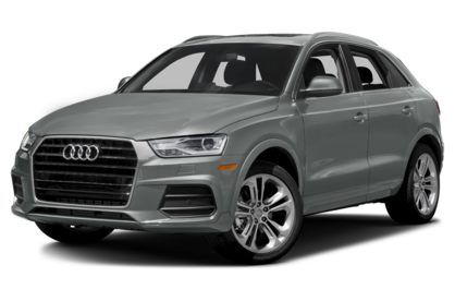 3/4 Front Glamour 2018 Audi Q3