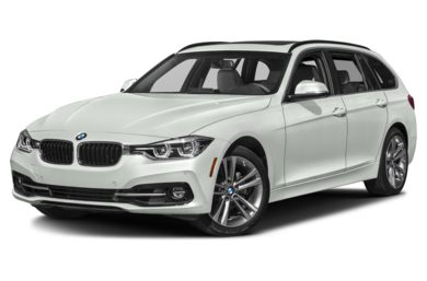 3/4 Front Glamour 2019 BMW 3-Series