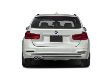 Rear Profile  2019 BMW 3-Series