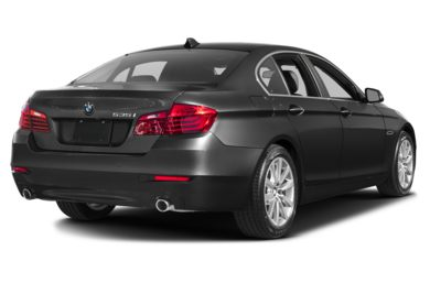 3/4 Rear Glamour  2016 BMW 535