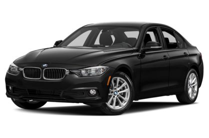 3/4 Front Glamour 2018 BMW 3-Series