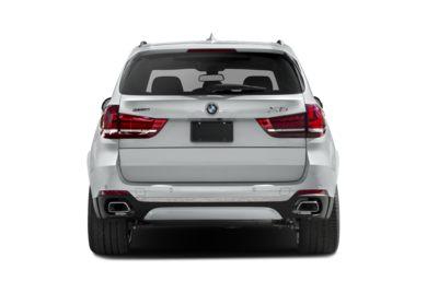 Rear Profile 2017 Bmw X5 Edrive