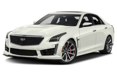 3/4 Front Glamour 2018 Cadillac CTS-V