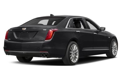 3/4 Rear Glamour  2018 Cadillac CT6