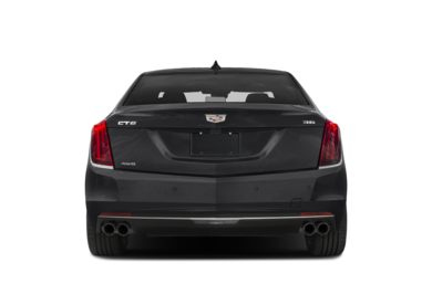 Rear Profile  2018 Cadillac CT6
