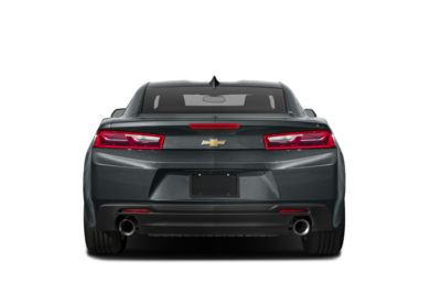 Rear Profile 2016 Chevrolet Camaro