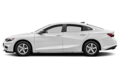 90 Degree Profile 2017 Chevrolet Malibu