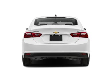 Rear Profile 2017 Chevrolet Malibu
