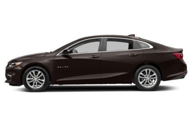 90 Degree Profile 2016 Chevrolet Malibu Hybrid