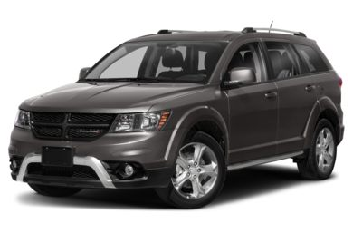 3/4 Front Glamour 2020 Dodge Journey