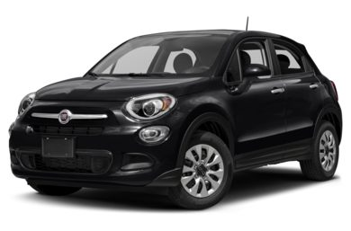 3/4 Front Glamour 2018 FIAT 500X