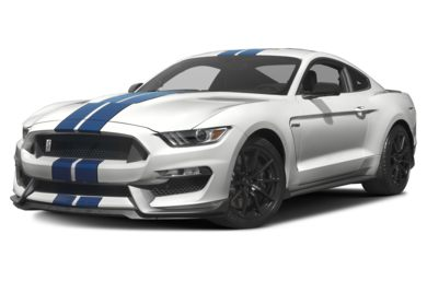 3/4 Front Glamour 2016 Ford Shelby GT350