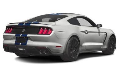 3/4 Rear Glamour  2016 Ford Shelby GT350