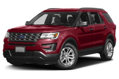 3 4 Front Glamour 2017 Ford Explorer