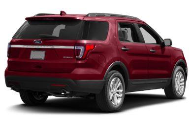 3 4 Rear Glamour 2017 Ford Explorer