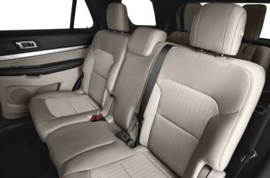 Rear Interior Volume 2017 Ford Explorer
