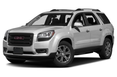 3/4 Front Glamour 2017 GMC Acadia Limited