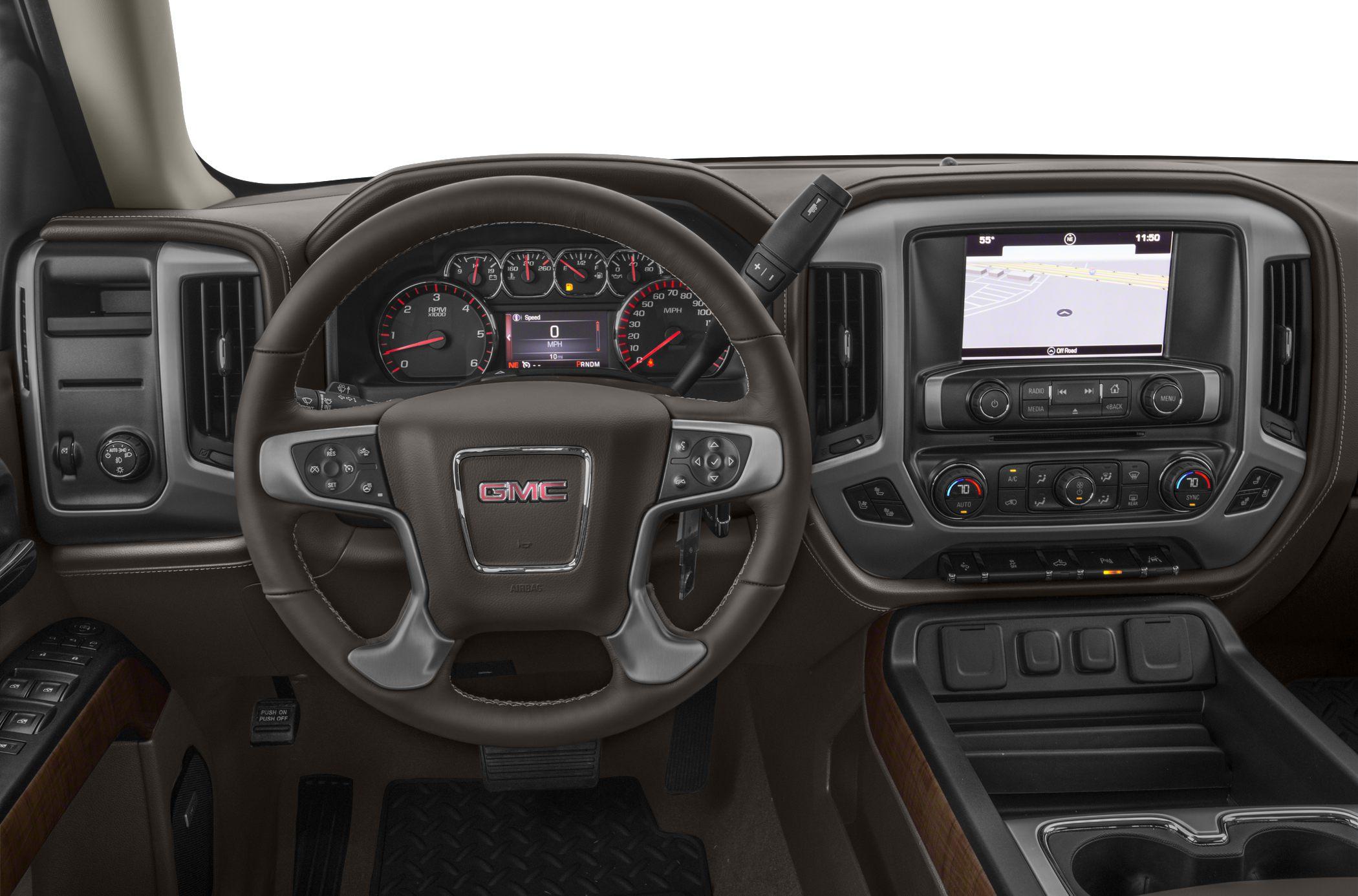 2017 GMC Sierra 1500 Styles & Features Highlights