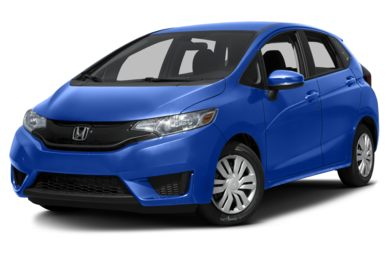 3/4 Front Glamour 2016 Honda Fit