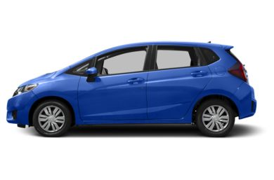 90 Degree Profile 2016 Honda Fit