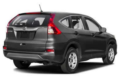 3/4 Rear Glamour  2016 Honda CR-V