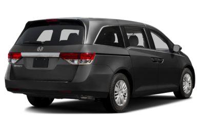 3 4 Rear Glamour 2016 Honda Odyssey