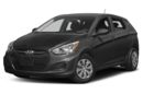 3/4 Front Glamour 2017 Hyundai Accent