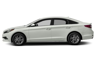 90 Degree Profile 2017 Hyundai Sonata
