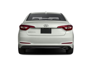 Rear Profile 2017 Hyundai Sonata