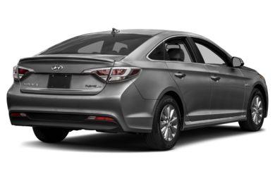 3 4 Rear Glamour 2016 Hyundai Sonata Hybrid