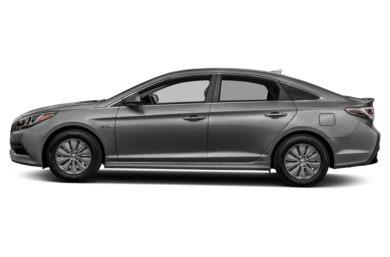 90 Degree Profile 2017 Hyundai Sonata Hybrid