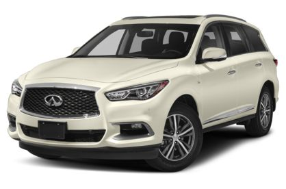 3/4 Front Glamour 2020 INFINITI QX60