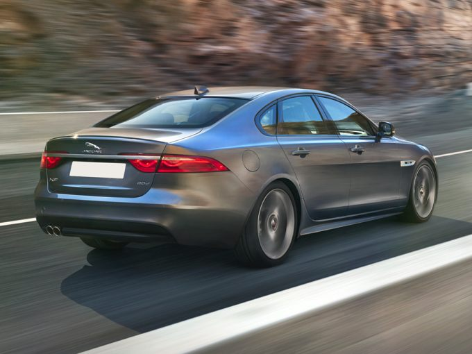 2016 Jaguar XF Rear