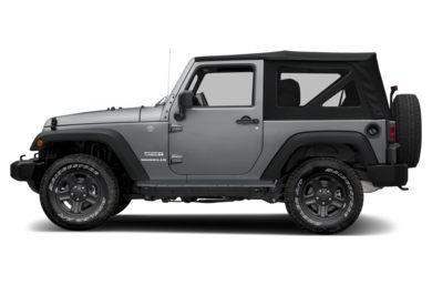 90 Degree Profile 2017 Jeep Wrangler