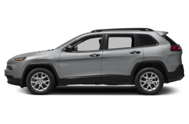 90 Degree Profile 2017 Jeep Cherokee