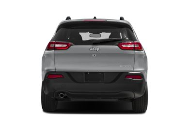 Rear Profile  2017 Jeep Cherokee