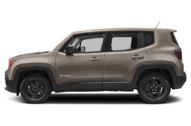 90 Degree Profile 2017 Jeep Renegade