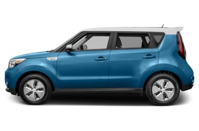 90 Degree Profile 2017 Kia Soul EV