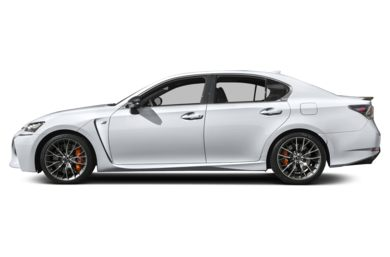 90 Degree Profile 2017 Lexus GS F