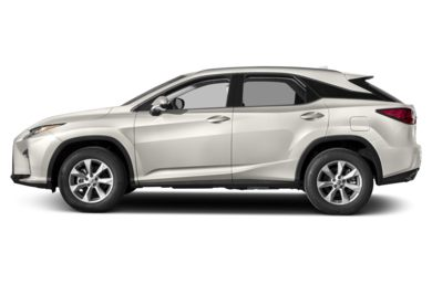 90 Degree Profile 2017 Lexus RX 350