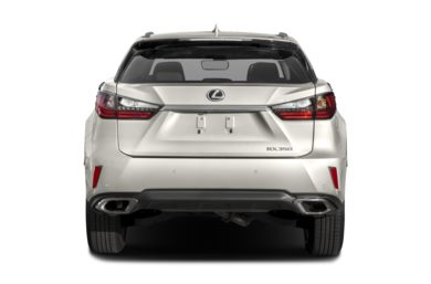 Rear Profile  2017 Lexus RX 350