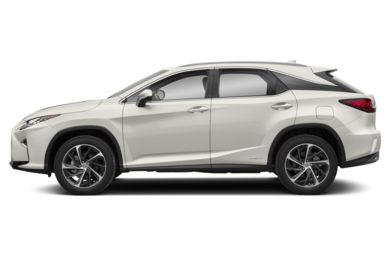 90 Degree Profile 2018 Lexus RX 450h