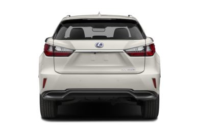 Rear Profile  2018 Lexus RX 450h