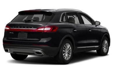 3 4 Rear Glamour 2017 Lincoln Mkx