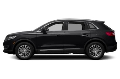 90 Degree Profile 2017 Lincoln Mkx