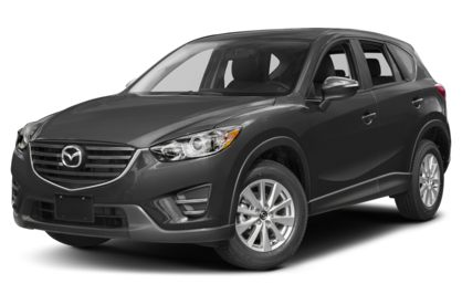 3/4 Front Glamour 2016 Mazda CX-5