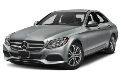 3/4 Front Glamour 2018 Mercedes-Benz C-Class