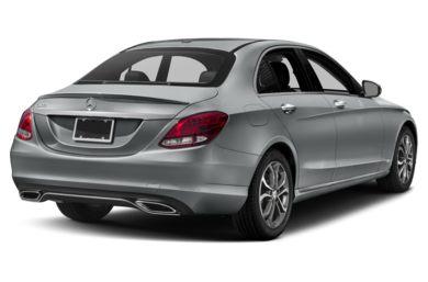3 4 Rear Glamour 2016 Mercedes Benz C300